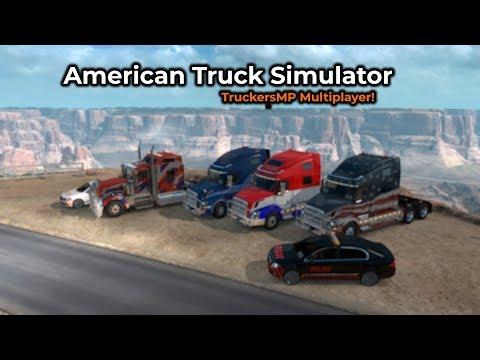 American Truck Simulator - TruckersMP (Livestream 02/02/2019)