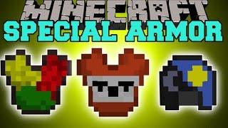 Minecraft: SPECIAL ARMOR (TONS OF UNIQUE ARMOR & ABILITIES!) Mod Showcase