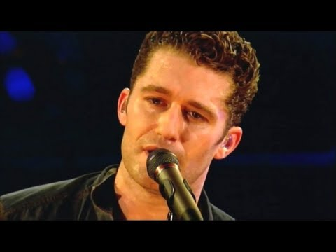 Matthew Morrison - Let it be , Hey Jude [ live at the Hammersmith Apollo in London 2011 ] (lyrics)