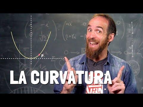 ¿Cuánto de curvada está una curva?