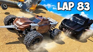 We Built Weapons on RC Cars & Battled in a DEATH RACE!