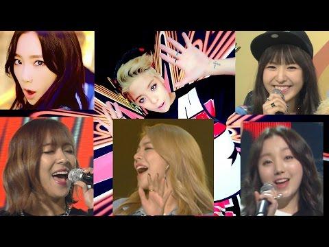 TaeYeon vs Wendy vs Luna vs Ailee vs Kei - Shake That Brass (Amber)