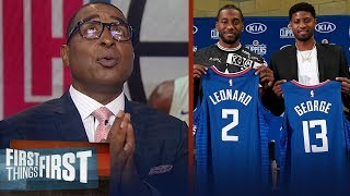 Clippers are already elite without one practice with Kawhi & Paul George | NBA | FIRST THINGS FIRST