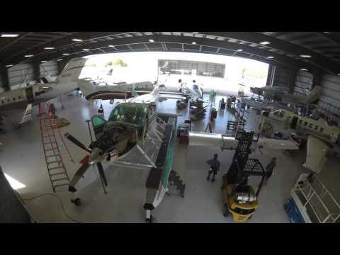 Banyan Cessna Caravan Aircraft Maintenance Time Lapse Video