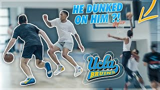 UCLA Player Goes Off In Pro Runs!! | Jordan Lawley Basketball