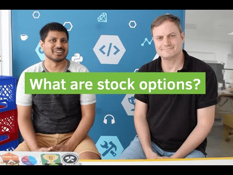 What are stock options?