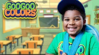 MOM LOST MY SCHOOL SUPPLIES! BACK TO SHOPPING WITH GOO GOO COLORS