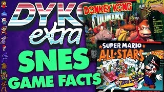SNES Games Trivia - Did You Know Gaming? extra Feat. Greg (Nintendo, Mario + More)