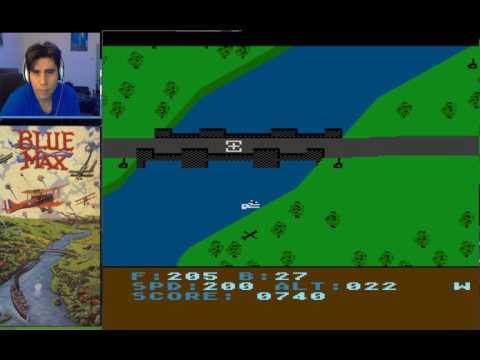 BLUE MAX / Atari /