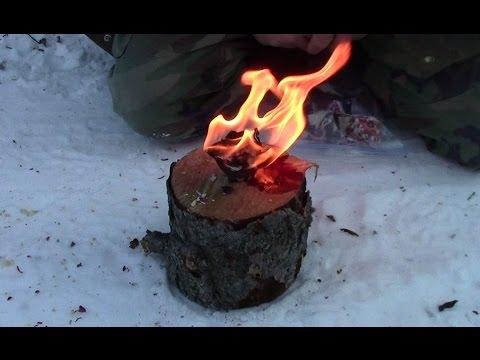 Handy Homemade Fire Starter
