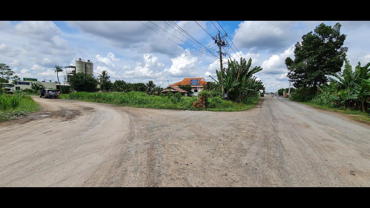 Đất chính chủ mặt tiền đường vào bến cảng Giao Long video