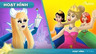 Nữ hoàng tuyết câu + 12 Nàng Công chúa💃 thích Khiêu vũ câu chuyện cổ tích - Truyện cổ tích việt nam