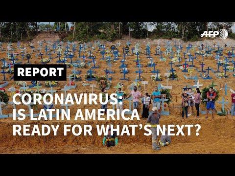 Coronavirus: is Latin America ready for what's next? | AFP photo