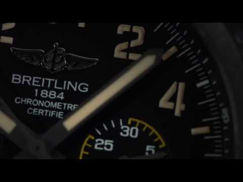 Breitling Avenger Hurricane Military Watch