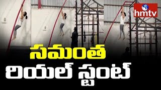 Samantha Akkineni Unbelievable Workout in Zym..