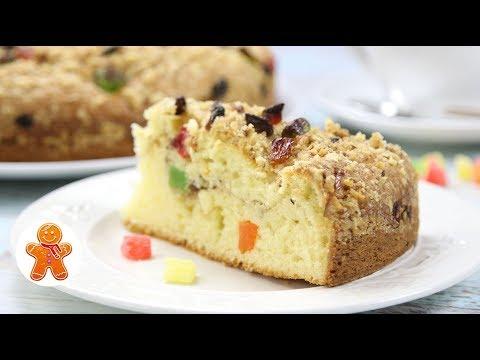 Праздничный пирог на сметане