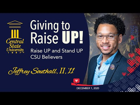 Giving to Raise UP! - Alumnus Jeffery Southall II '11