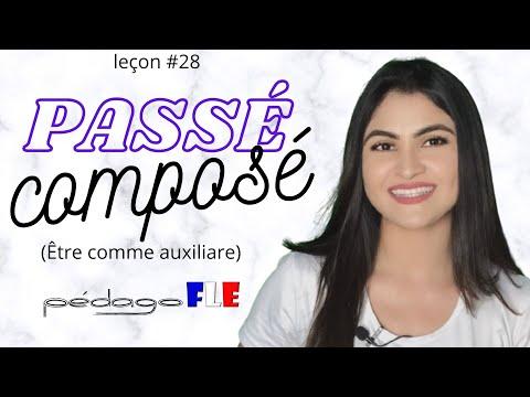 Hablar en PASADO en FRANCES - Passé Composé con Être - Clase 28