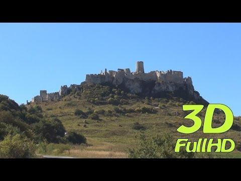 [3DHD] Walking Tour: Spiš Castle, Spišské Podhradie, Slovakia / Pěší výlet: Spišský hrad, Slovensko