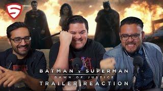 Batman v Superman: Dawn of Justice - Official Trailer 2 Reaction!