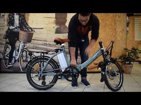 How to fold Juicy's Compact Folding Bike