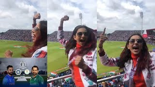 India Vs Pakistan: Rakul Preet Singh Crazy Cheering for Te..