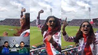 India Vs Pakistan: Rakul Preet Singh Crazy Cheering for Te..