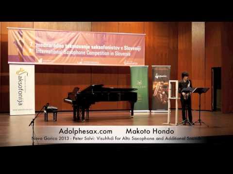 Makoto Hondo - Nova Gorica 2013 - Peter Salvi: Visuhhdi