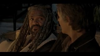 KING EZEKIEL TALKS ABOUT HIS RISE TO POWER AND HIS TIGER - The Walking Dead Season 2