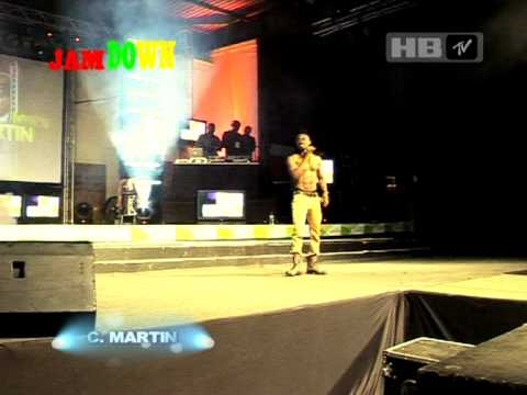 Christopher Martin Paper loving performance in Kenya, Africa