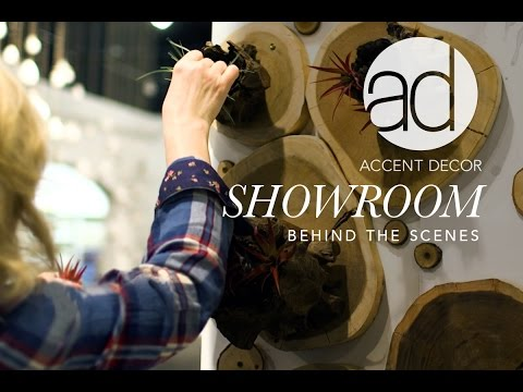 Behind the Scenes: Accent Decor Showrooms