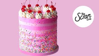 STRAWBERRY BIRTHDAY CAKE! - The Scran Line