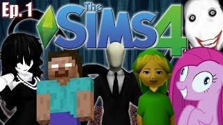 The Sims 4 - Creepypasta Theme - Ep. 1 (Create A Sim)