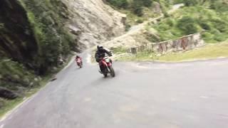 Rishikesh to Joshimath through Devprayag, Rudraprayag, Karnprayag and Chamoli.