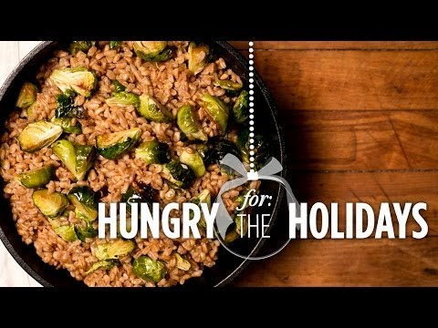 Brussels Sprouts And Farro Salad   Hungry For The Holidays - Smashpipe Style