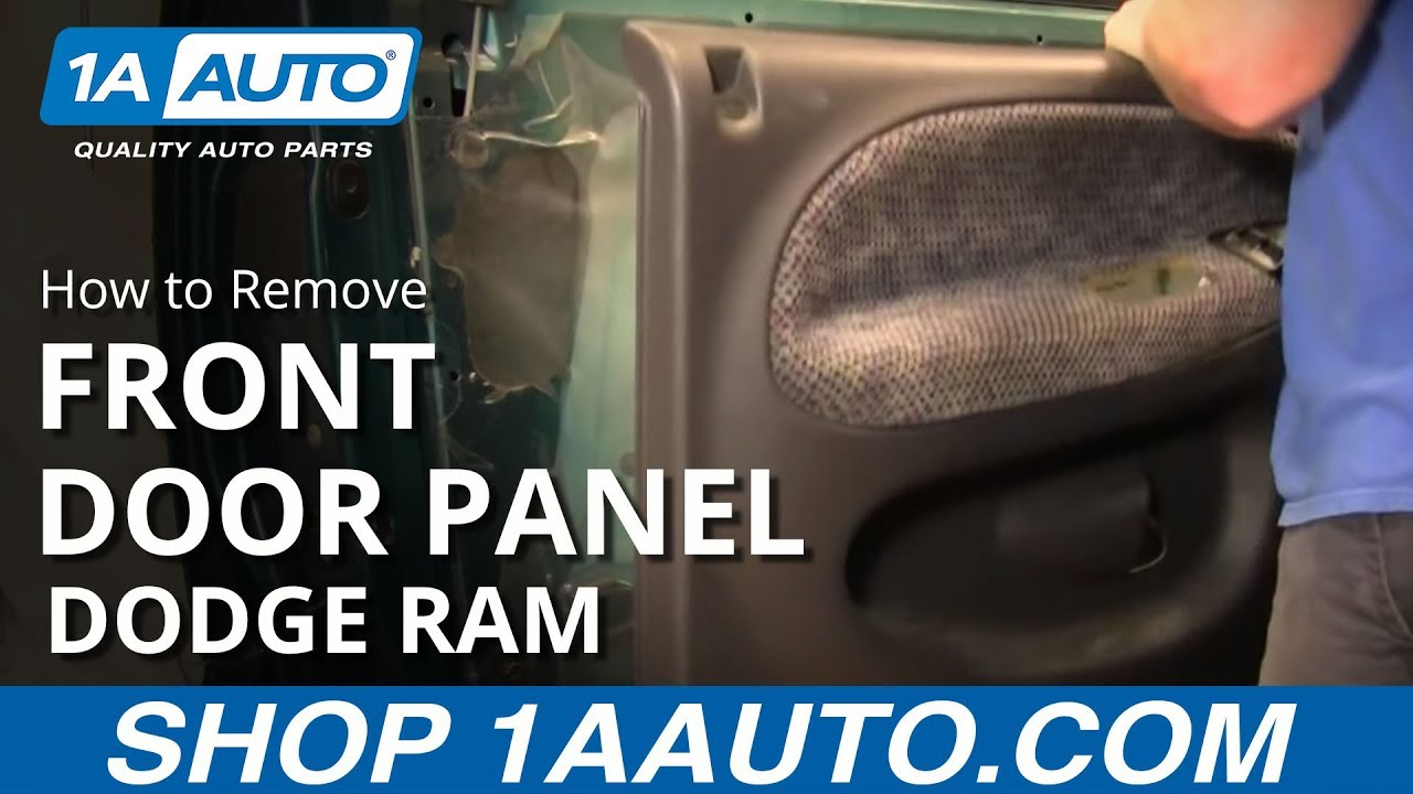 How To Install Replace A Door Panel Dodge Ram 94 01 1aauto