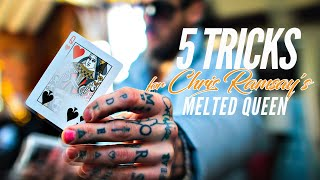 LEARN 5 TRICKS for Chris Ramsay's MELTED QUEEN