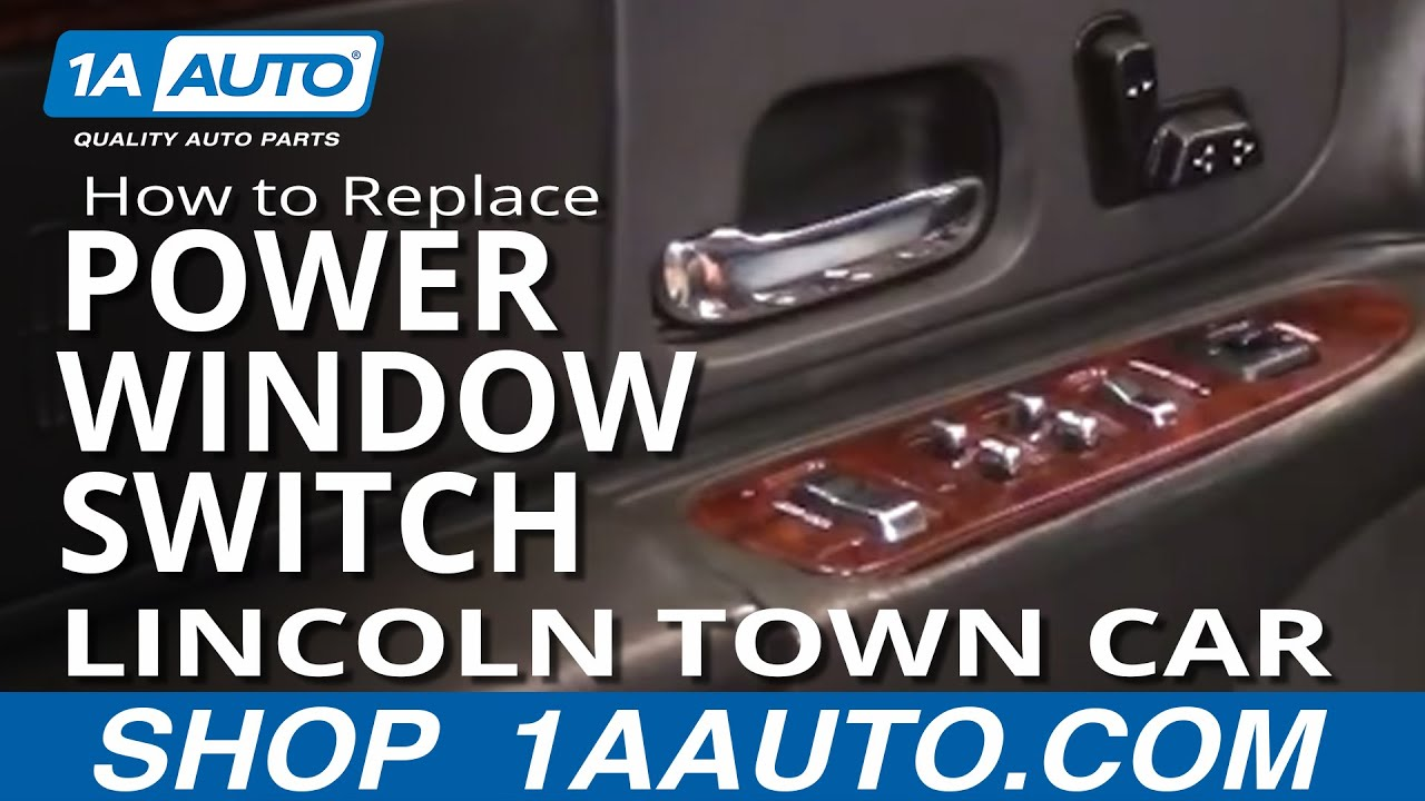 How To Replace Repair Install Broken Driver Power Window
