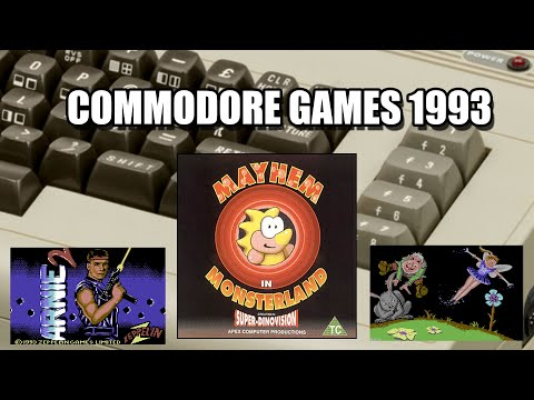 COMMODORE TOP GAMES 1993