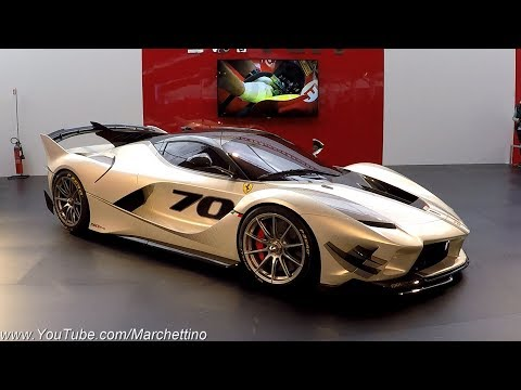 This is the ?4.0M Ferrari FXXK EVO! - WORLD DEBUT (SUB Eng)