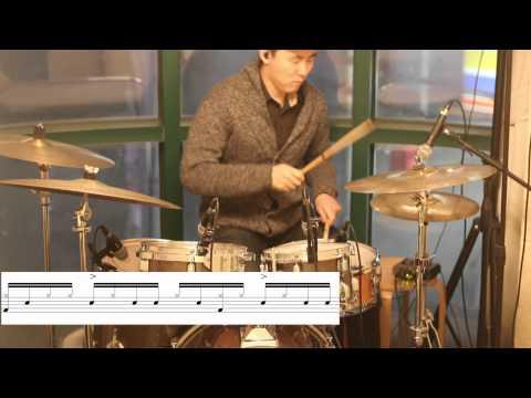 [드럼 강의]파라디들 리듬  (Paradiddle Rhythm) Vongott Drum