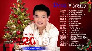 Renz Verano Christmas Songs 2019   Renz Verano Paskong Pinoy Tagalog Christmas Songs Medley HD