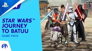 Les sims 4 star wars : voyage sur batuu :  bande-annonce