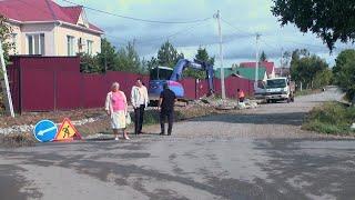 На улице Шахтёрская полным ходом идёт капитальный ремонт дороги