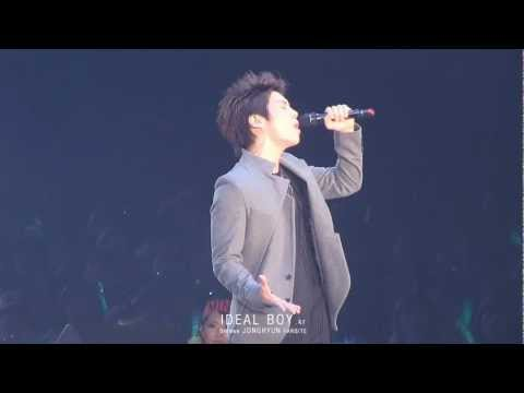20111124 SWC in Osaka - JONGHYUN '僕は君に戀をする'