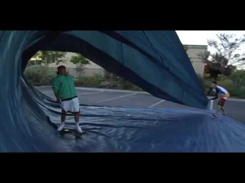 Surfowanie deskorolką
