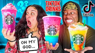 Testing Viral TikTok SECRET Drinks! **MUST HAVE**