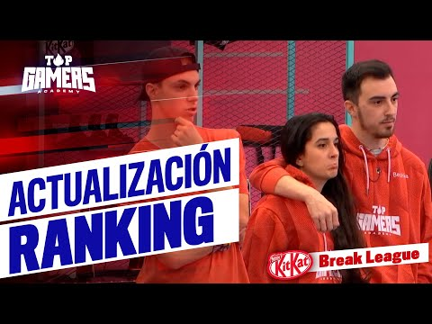 ACTUALIZACIÓN del RANKING del TORNEO KIT KAT BREAK LEAGUE (26NOV) | TOP GAMERS ACADEMY