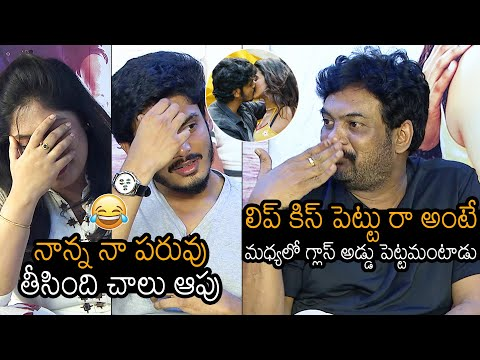 Puri Jagannadh says his son refuses to give kiss to Romantic actress