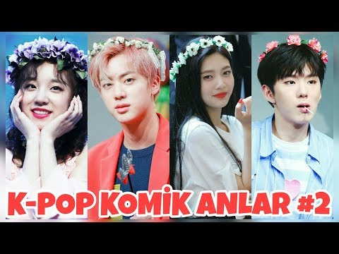 K-POP KOMİK ANLAR 2 (BTS,EXO,TWICE,NCT,RED VELVET..)